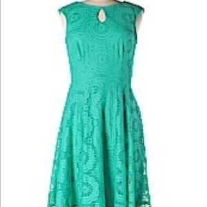 Maggy London Dress. Emerald green. Size 6